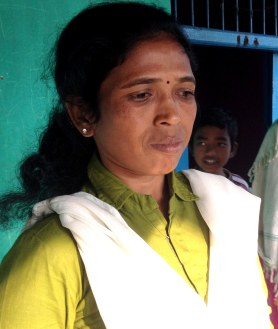 Soni Sori Palnar visiting her family at her village Palnar on 14th Nov 2013