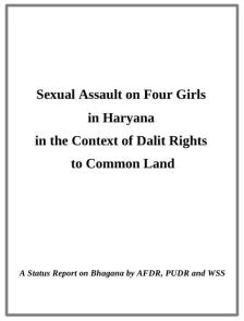 bhagana report cover