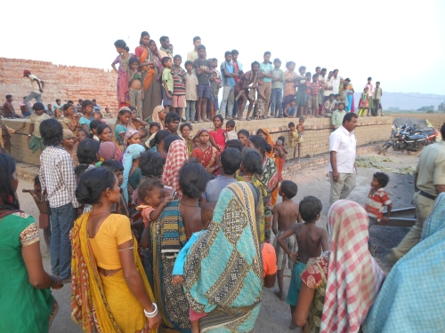 Karimnagar brickkiln worker death